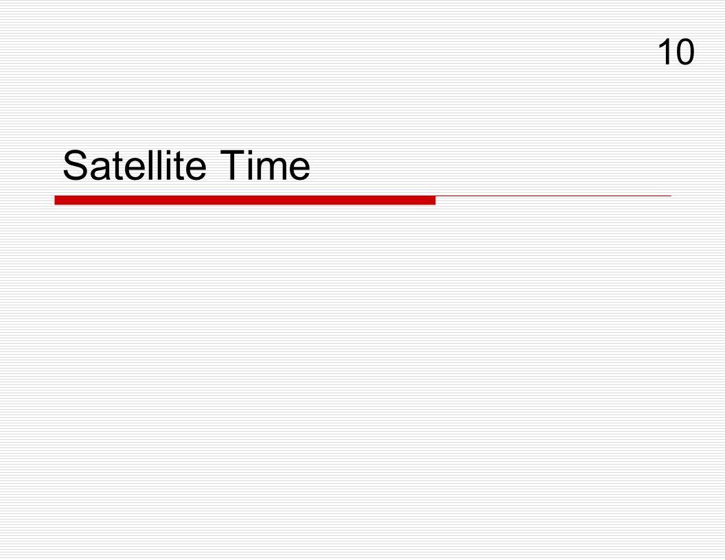 Satellite Time 10