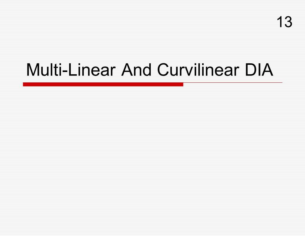 Multi-Linear And Curvilinear DIA 13