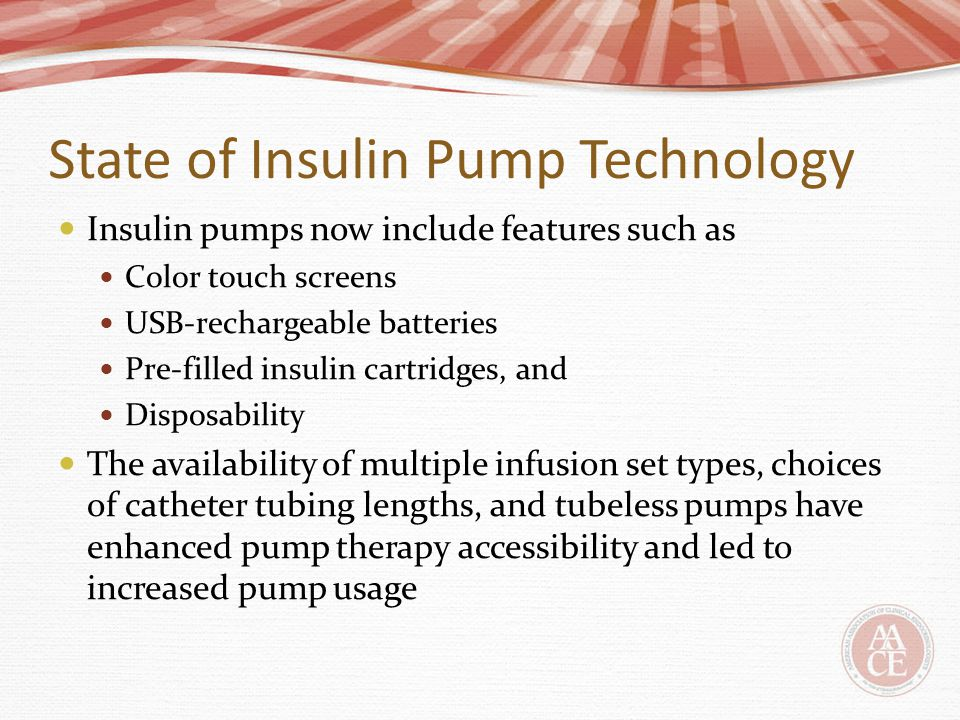 Usability and human factors should be used as criteria to judge new insulin pumps Every patient using an insulin pump should have an experienced, pump-knowledgeable diabetes care team All patients should have periodic re-education and re-training to address knowledge gaps Patient suitability for pump use must be re-examined over a patient's lifetime
