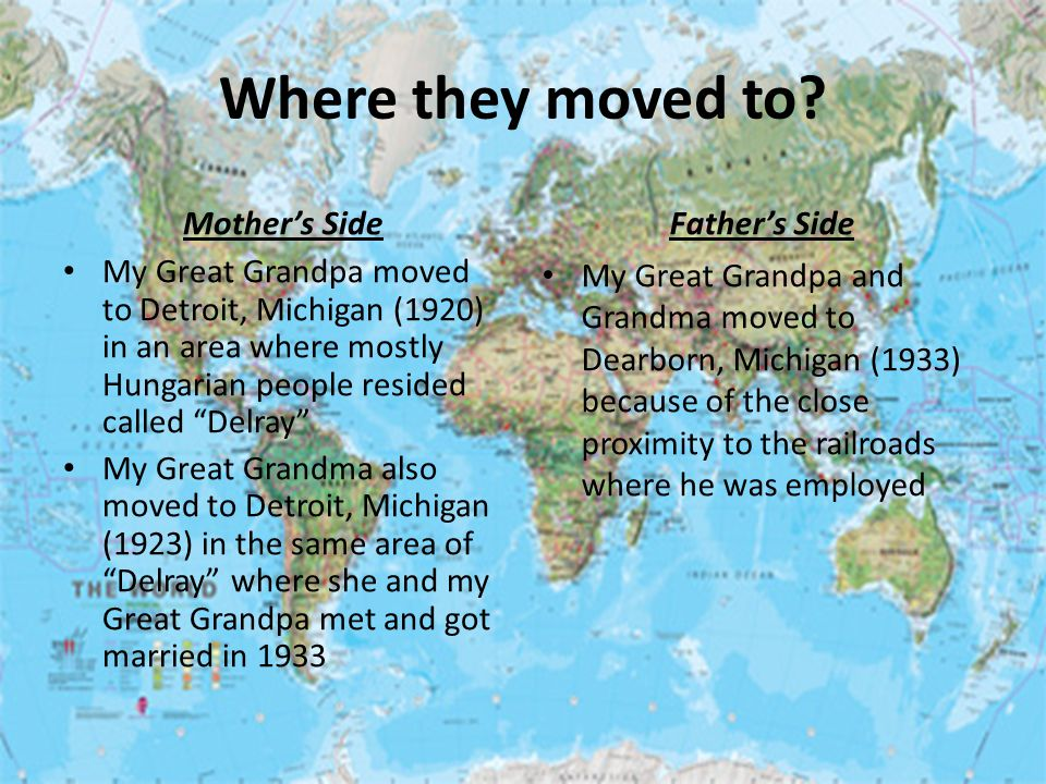 Where they moved to.