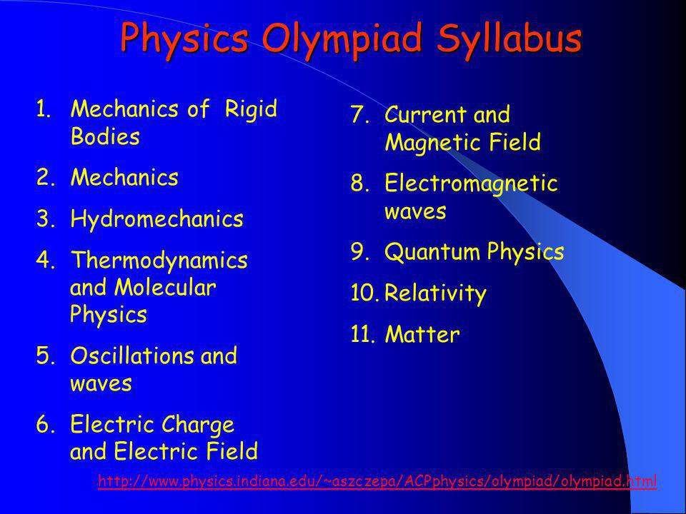 AACP 1999 Physics Olympiad Screening Test (page 1)