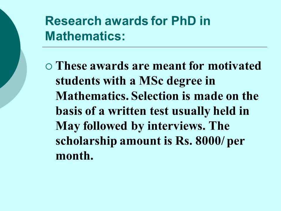  The present National Coordinator of NBHM is Prof.V.M.Sholapurkar Head of Department of Mathematics, S.P.College, Pune -411030  Contact No: 09922542713  Contact No.