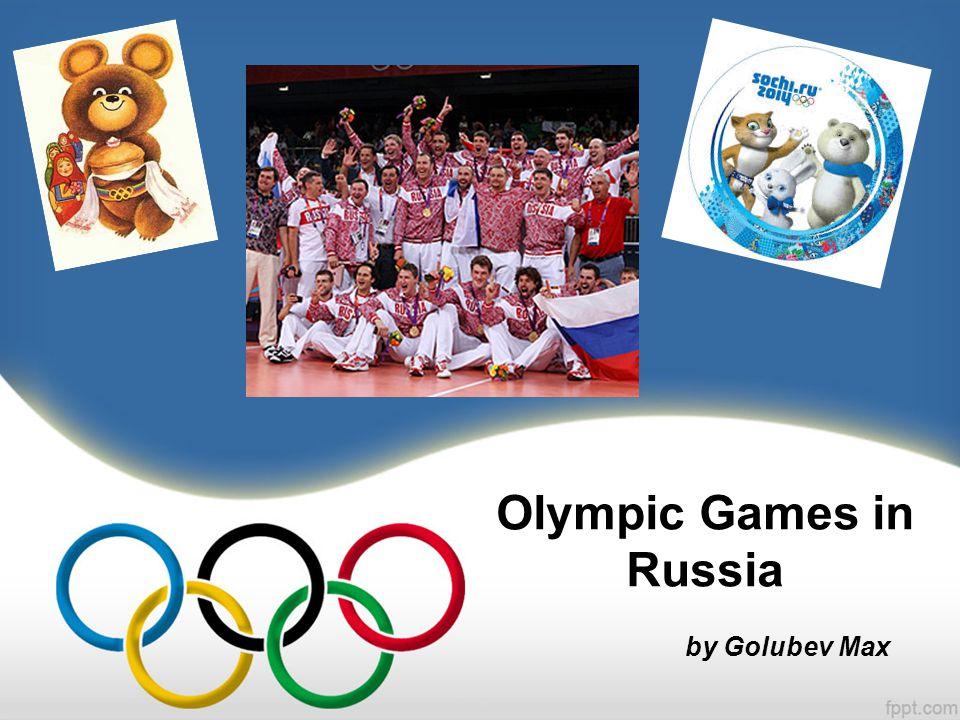 Olympic Games in Russia by Golubev Max