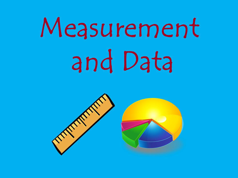Measurement and Data