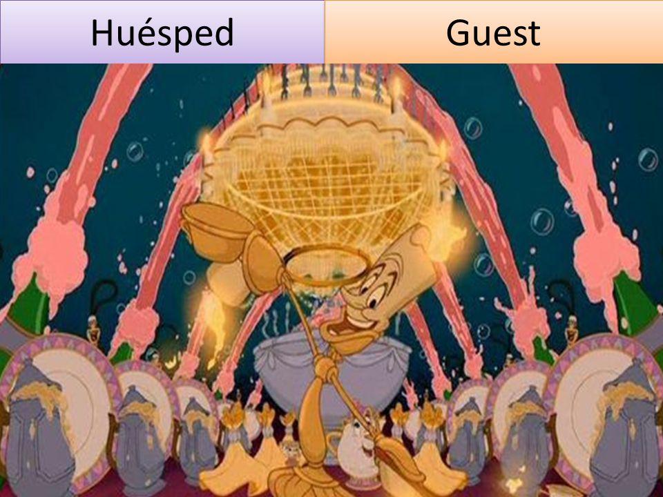 Huésped Guest