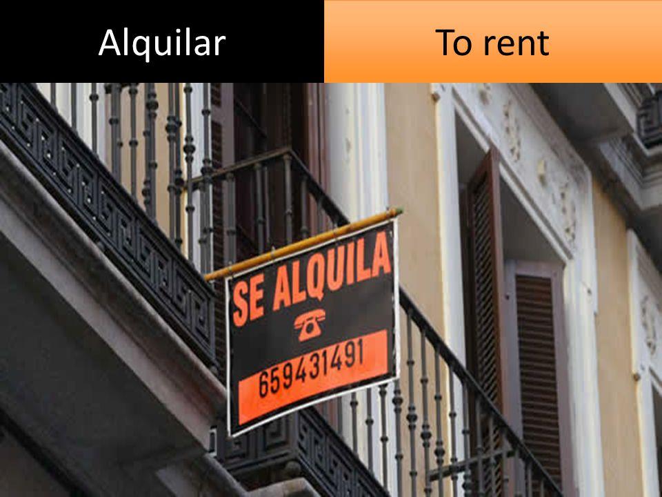 Alquilar To rent