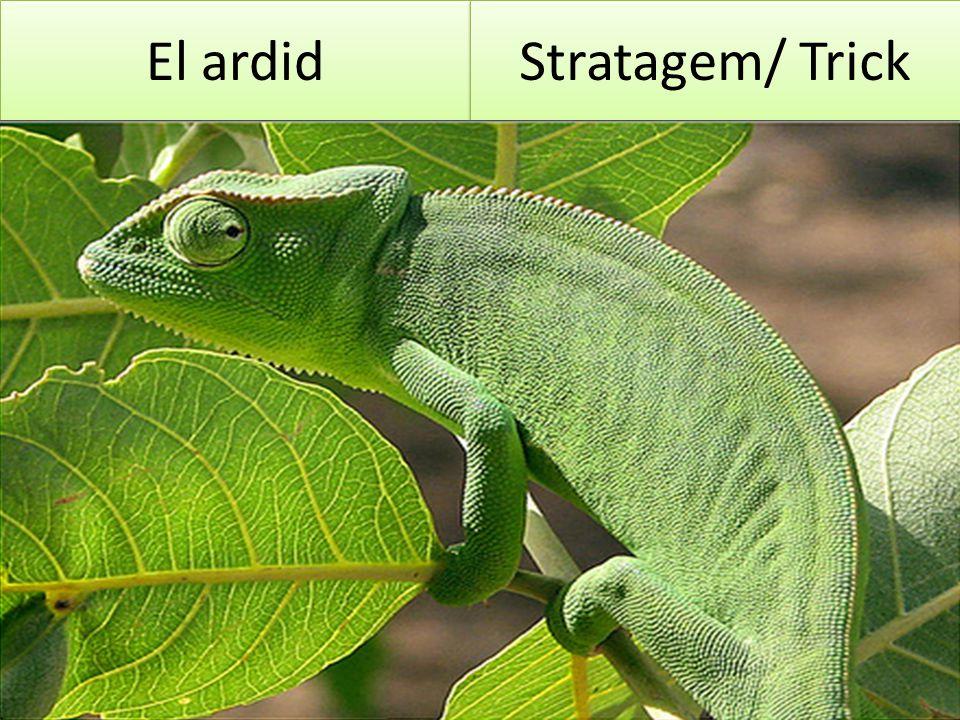 El ardid Stratagem/ Trick