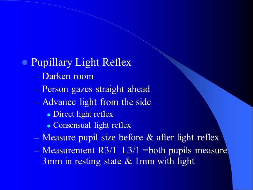 Iris and Pupil Iris = flat, round, regular, even color bilaterally.