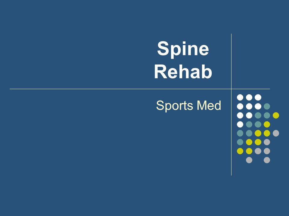 Spine Rehab Sports Med