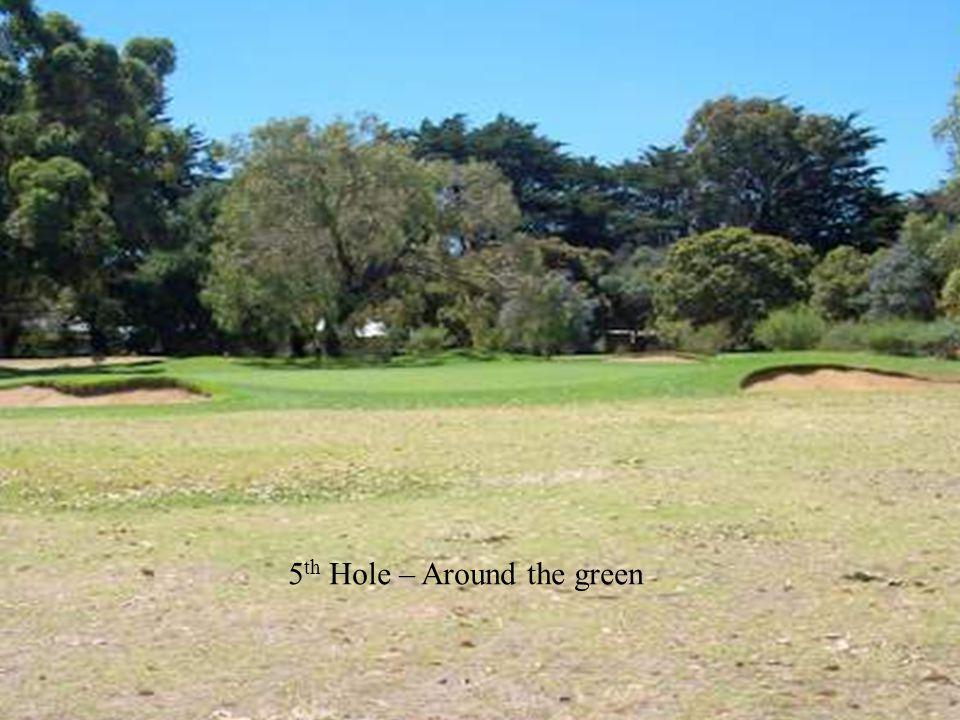 5 th Hole – Around the green