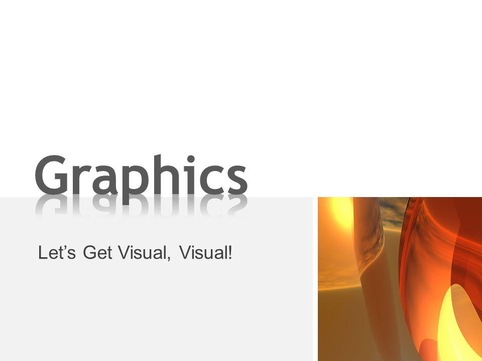 Let's Get Visual, Visual!