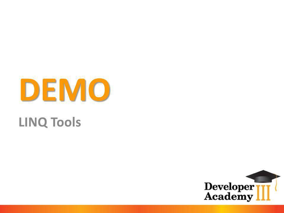 DEMO LINQ Tools