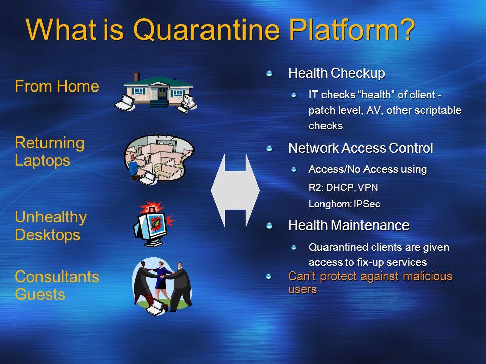 What is Quarantine Platform.