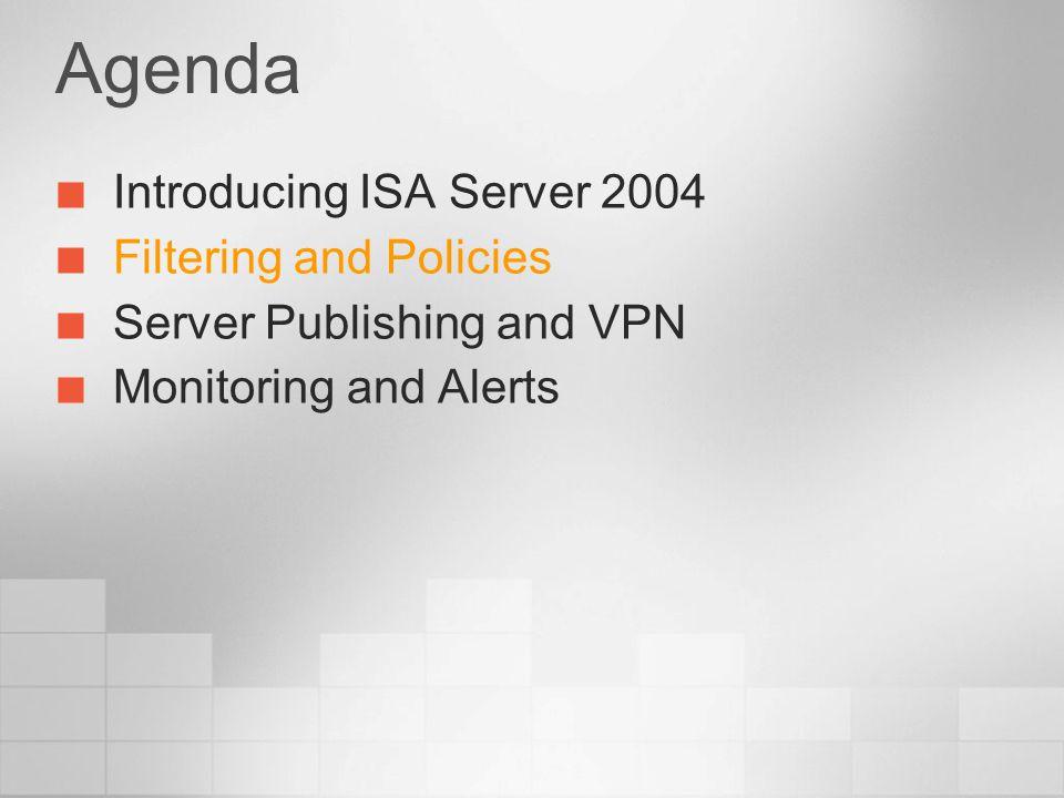 Server Publishing and VPN Server Publishing and VPN Create Web Listener Publish Web Site Publish Exchange for OWA Link Translation Enable VPN demonstration demonstration