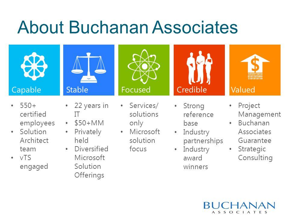 Buchanan Associates Values