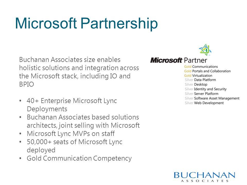 Ken Lasko, Buchanan Associates UC practice lead, Microsoft VTS, MVP CASE STUDY