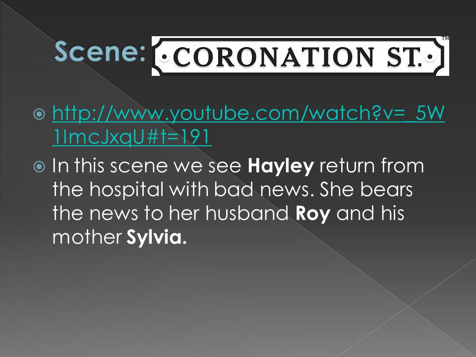  http://www.youtube.com/watch?v=_5W 1ImcJxqU#t=191 http://www.youtube.com/watch?v=_5W 1ImcJxqU#t=191  In this scene we see Hayley return from the ho