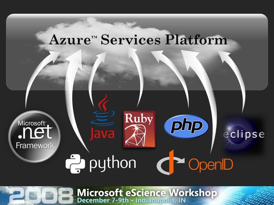 Azure ™ Services Platform