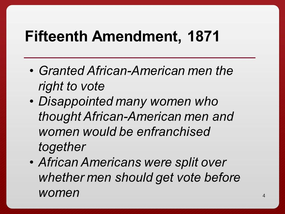 15 19 th Amendment, 1920 Tennessee was the 36 th state to ratify, and it passed by only 1 vote.