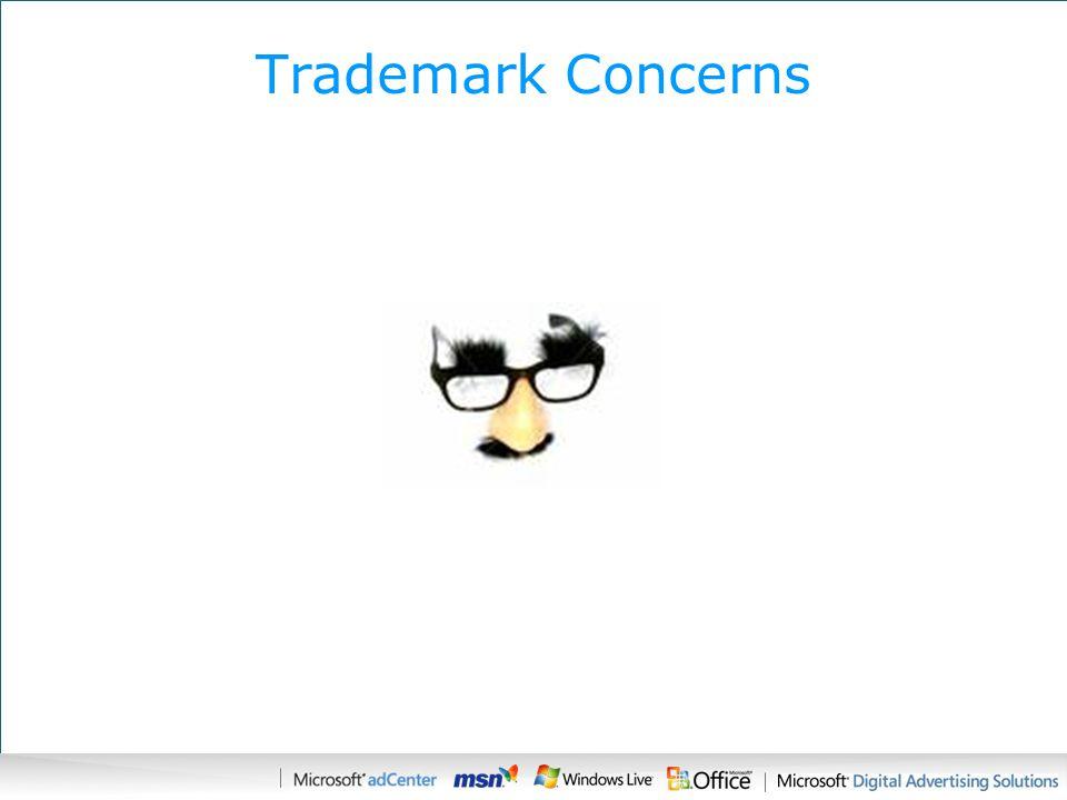 Trademark Concerns