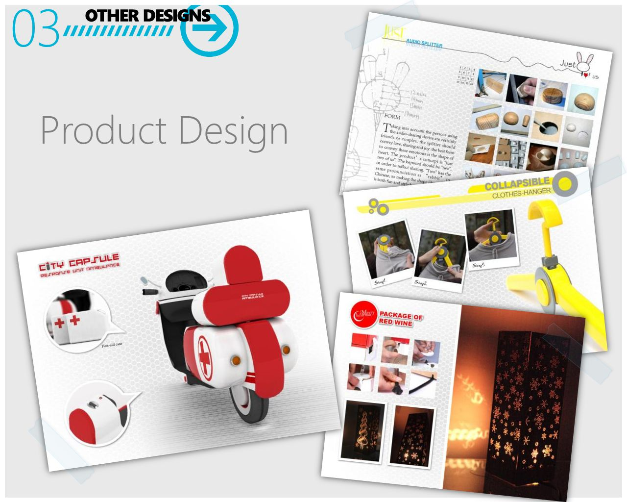 OTHER DESIGNS 03 Product Design