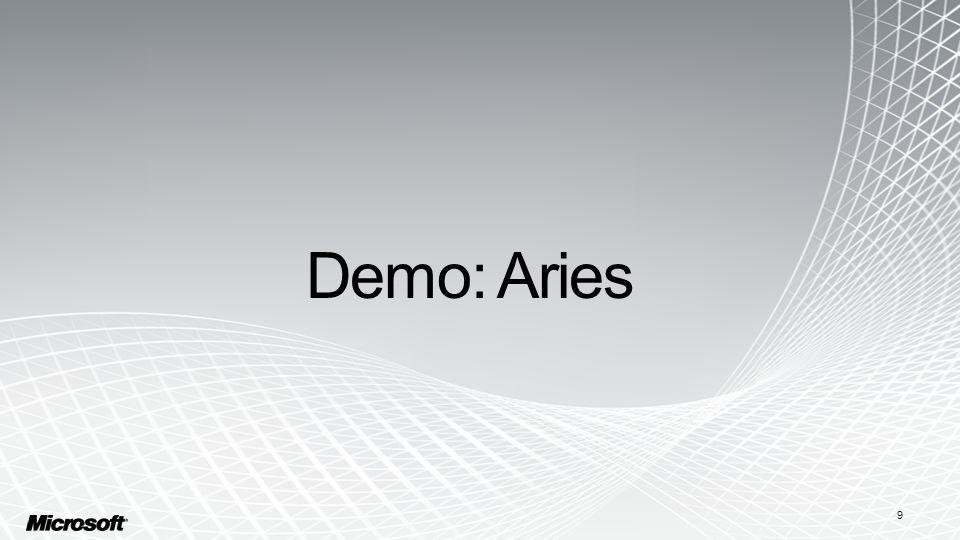 Demo: Aries 9
