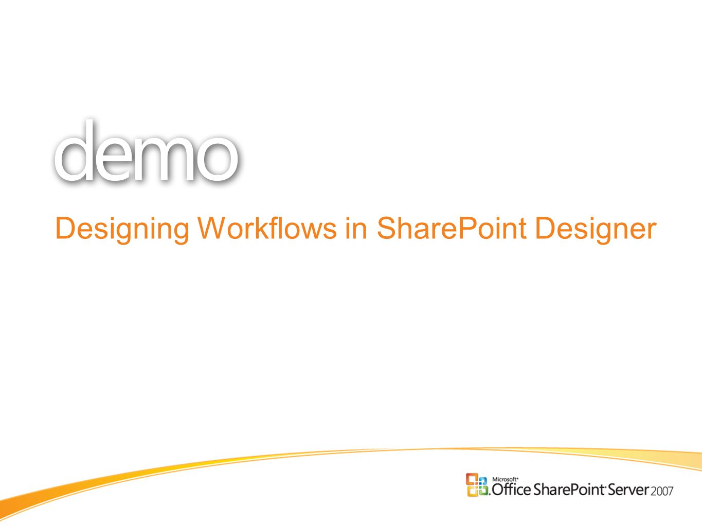 Designing Workflows in SharePoint Designer