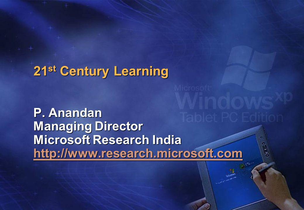 21 st Century Learning P.