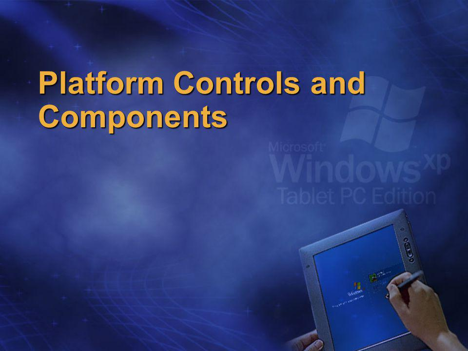 Platform Controls and Components