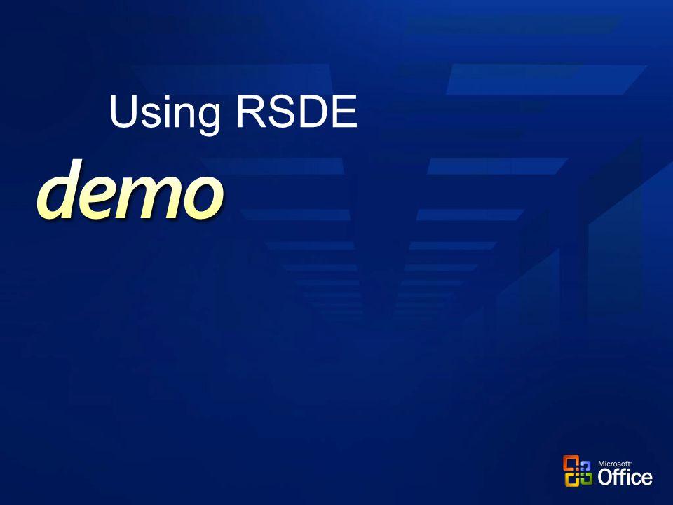 Using RSDE