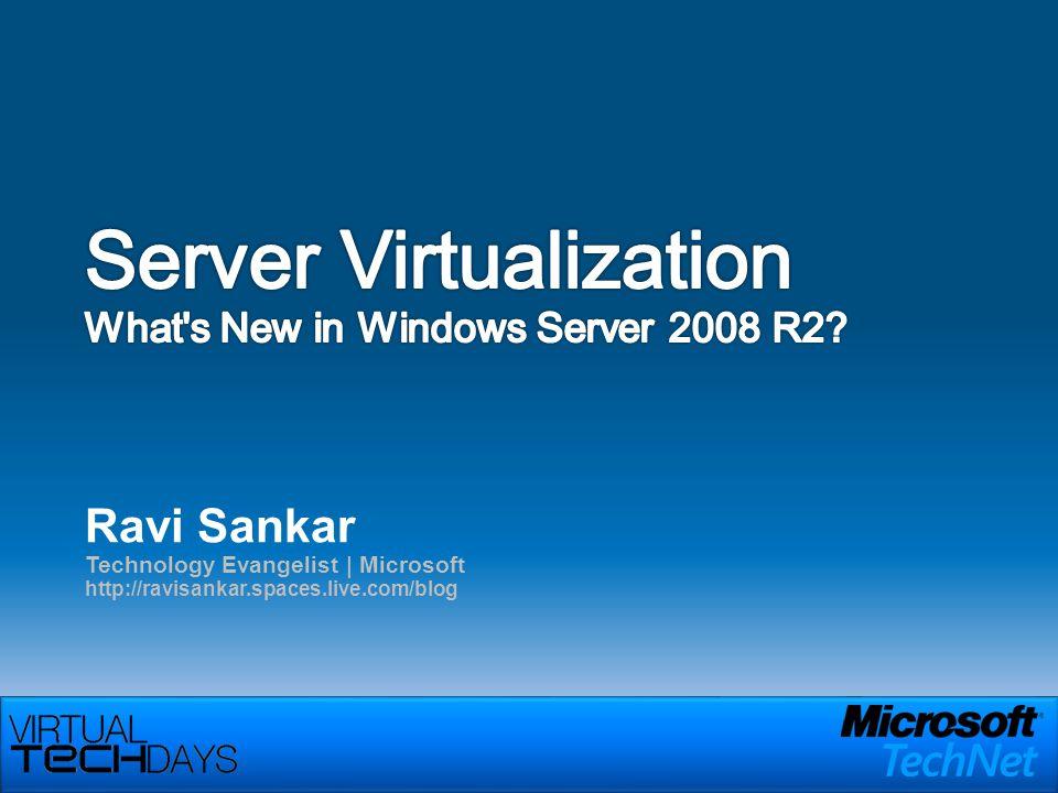 Ravi Sankar Technology Evangelist | Microsoft http://ravisankar.spaces.live.com/blog