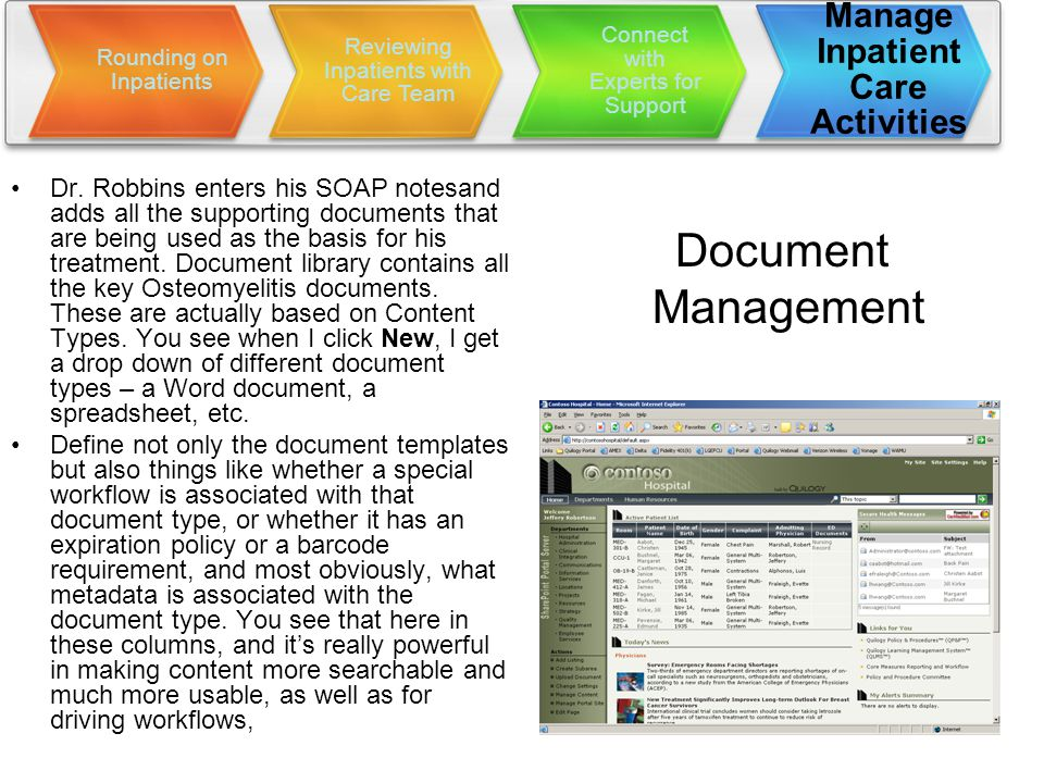 Document Management Dr.