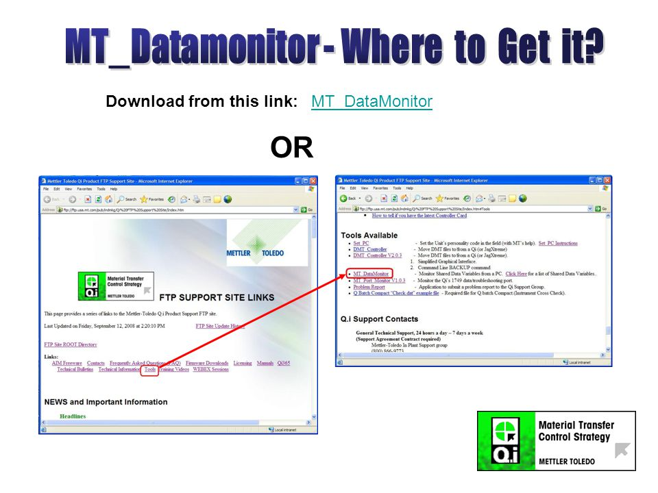 Download from this link: MT_DataMonitorMT_DataMonitor OR