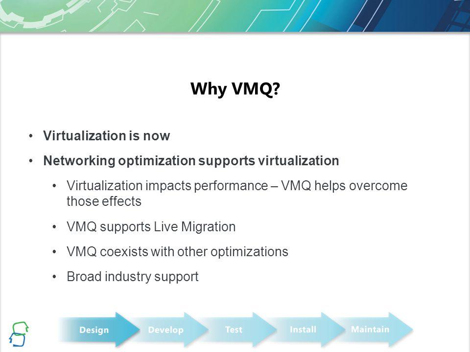 Why VMQ.