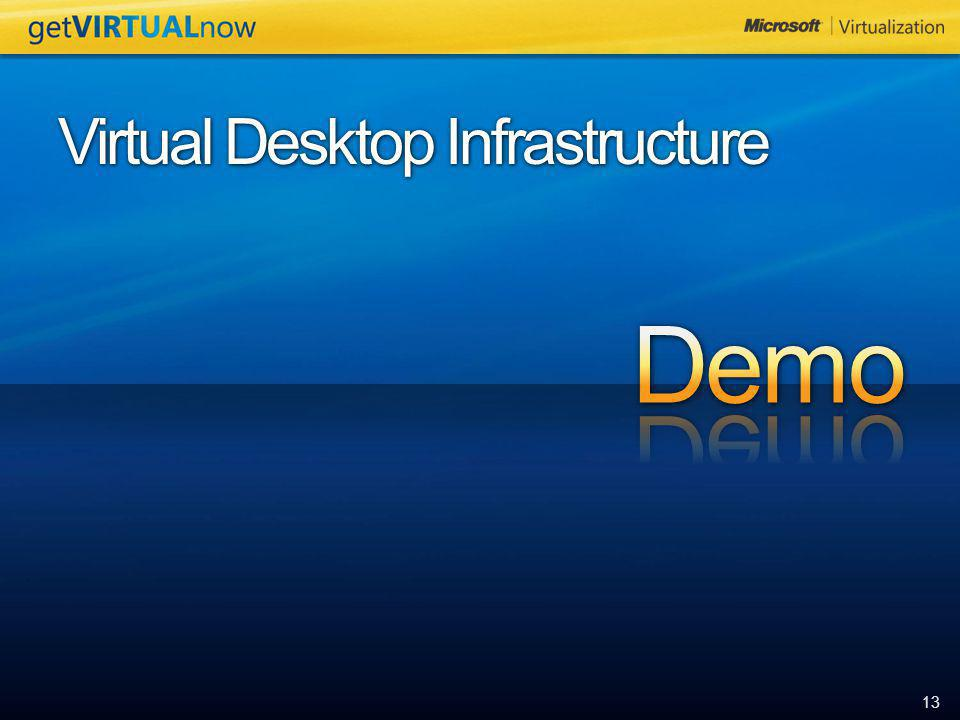 13 Virtual Desktop Infrastructure