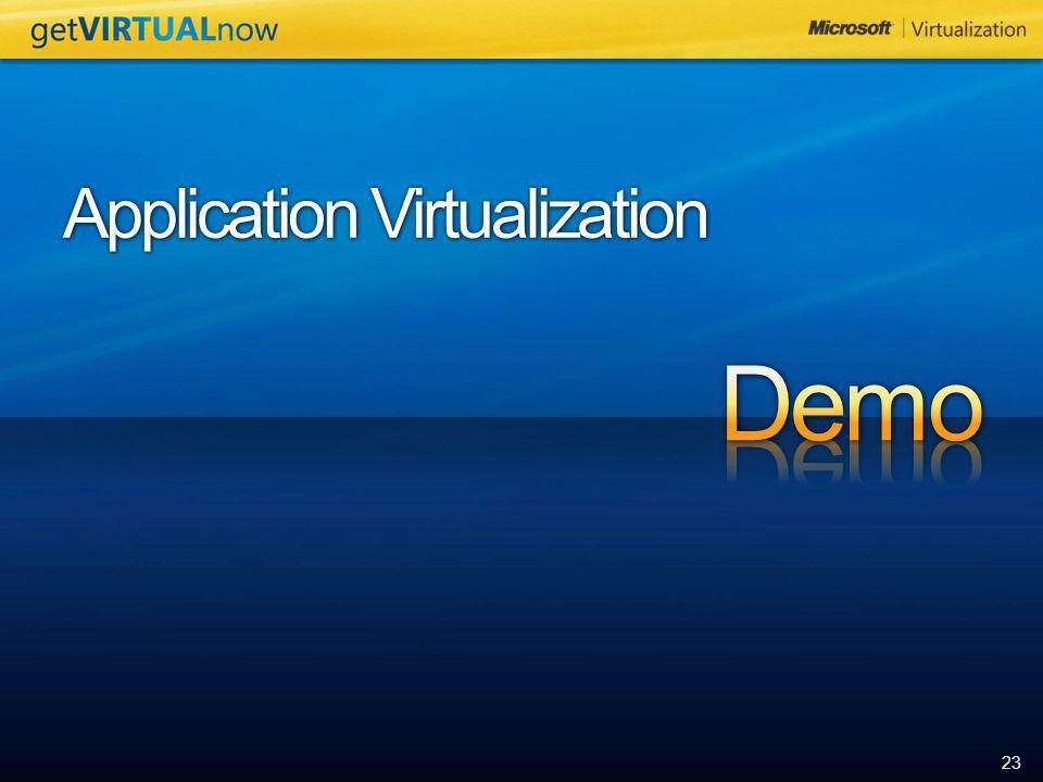 23 Application Virtualization