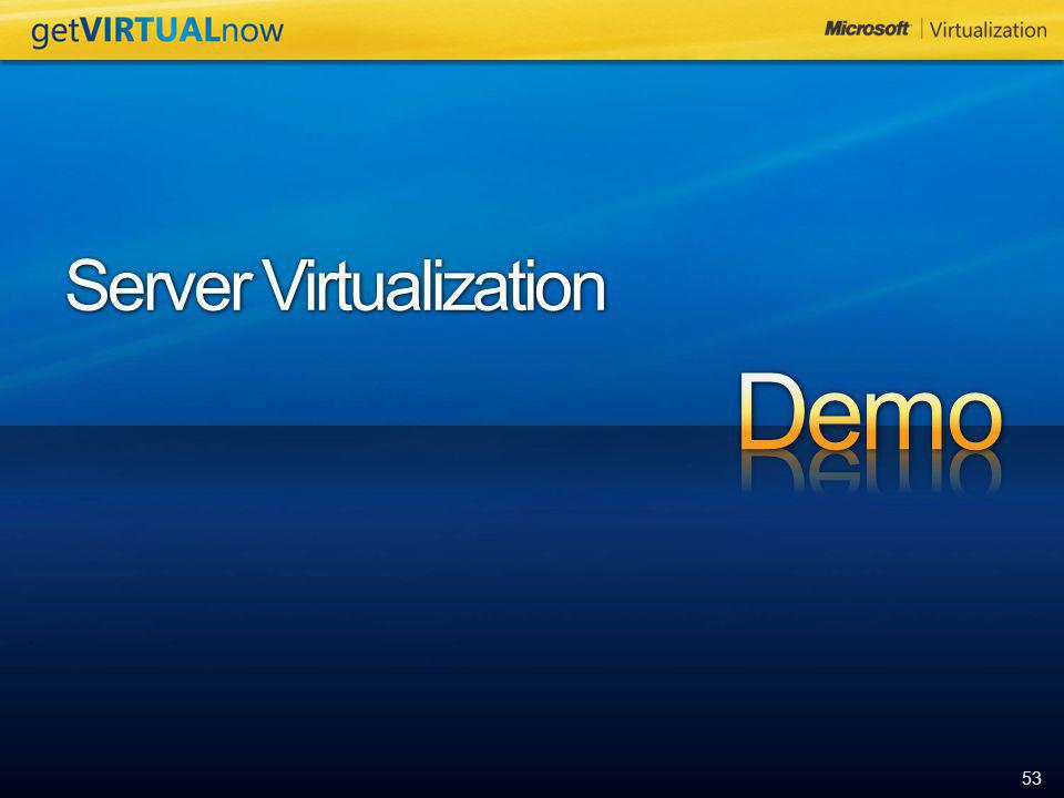 53 Server Virtualization