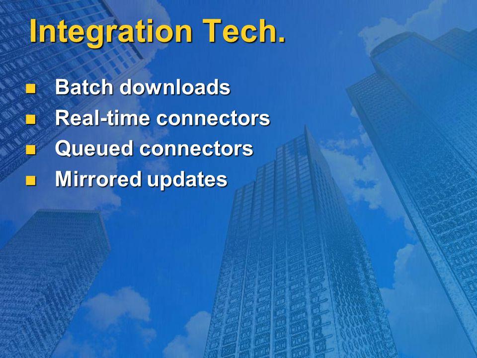 Integration Tech.