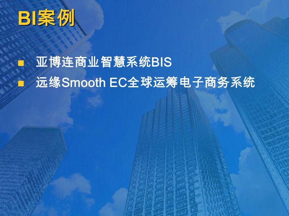 BI 案例 亚博连商业智慧系统 BIS 远缘 Smooth EC 全球运筹电子商务系统