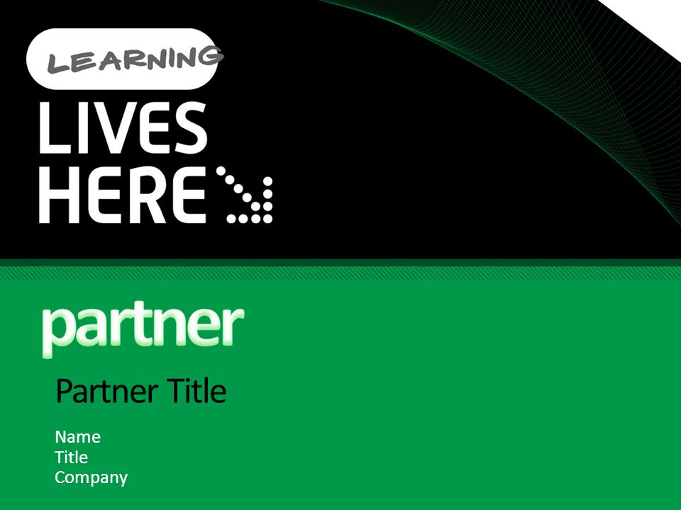 Partner Title Name Title Company