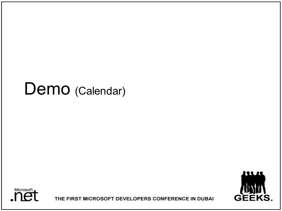 Demo (Calendar)