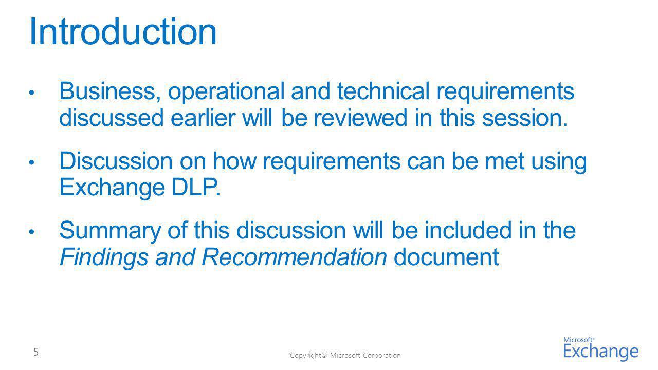 #RequirementYes/No/Parti al Exchange DLP Feature/Setting BR0 1 BR0 2 BR0 3 BR0 4