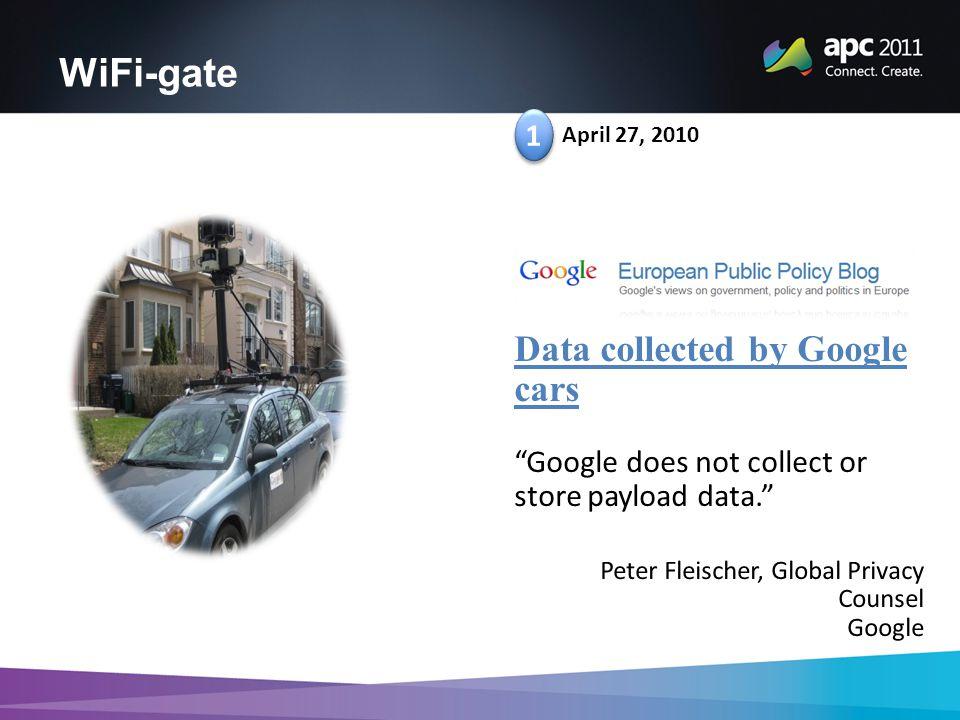 WiFi-gate 1 1 April 27, 2010