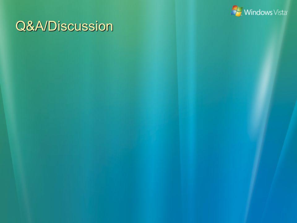 Q&A/Discussion