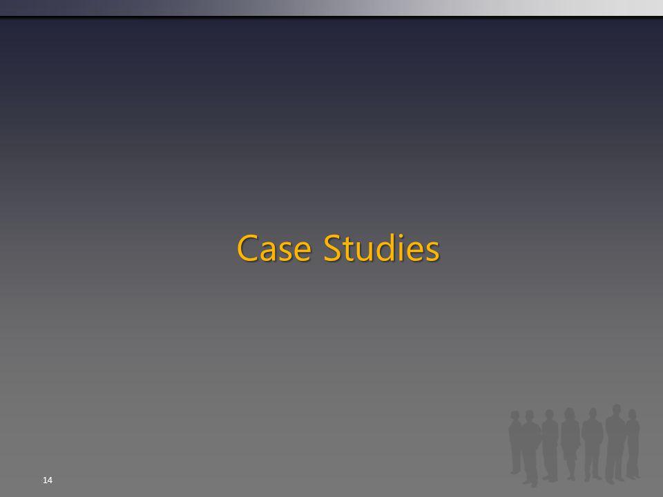 Case Studies  14