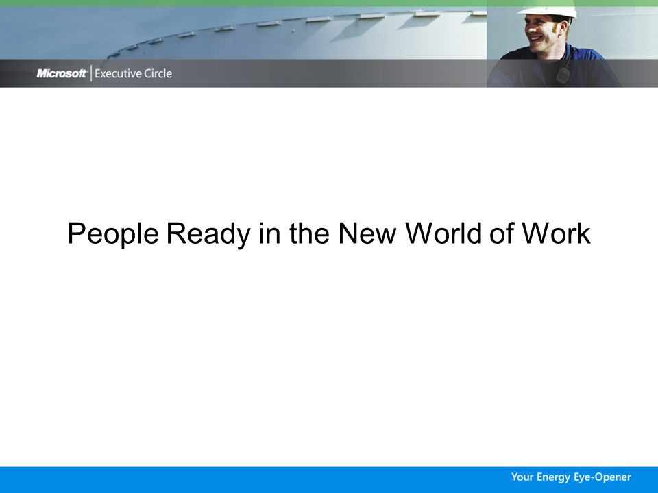 People Ready in the New World of Work