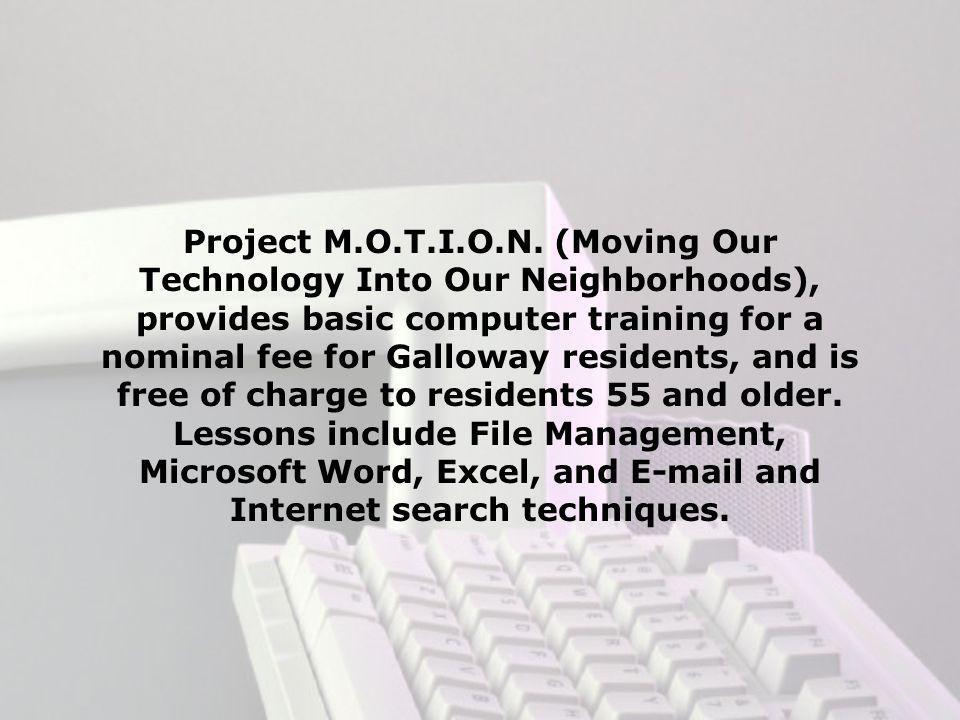 Project M.O.T.I.O.N.