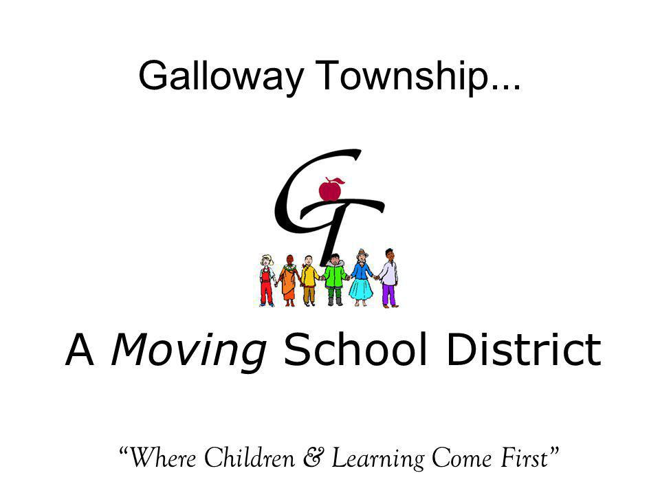 A Moving School District Galloway Township... Where Children & Learning Come First
