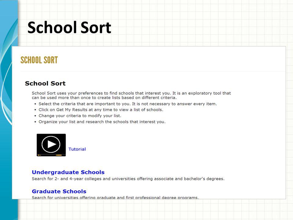 School Sort