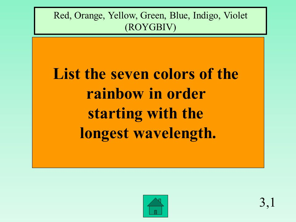 2,4 What wave is found naturally in sunlight Ultraviolet Radiation